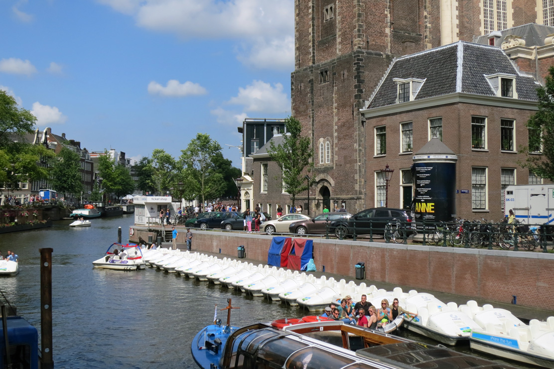 Pedal boat Amsterdam