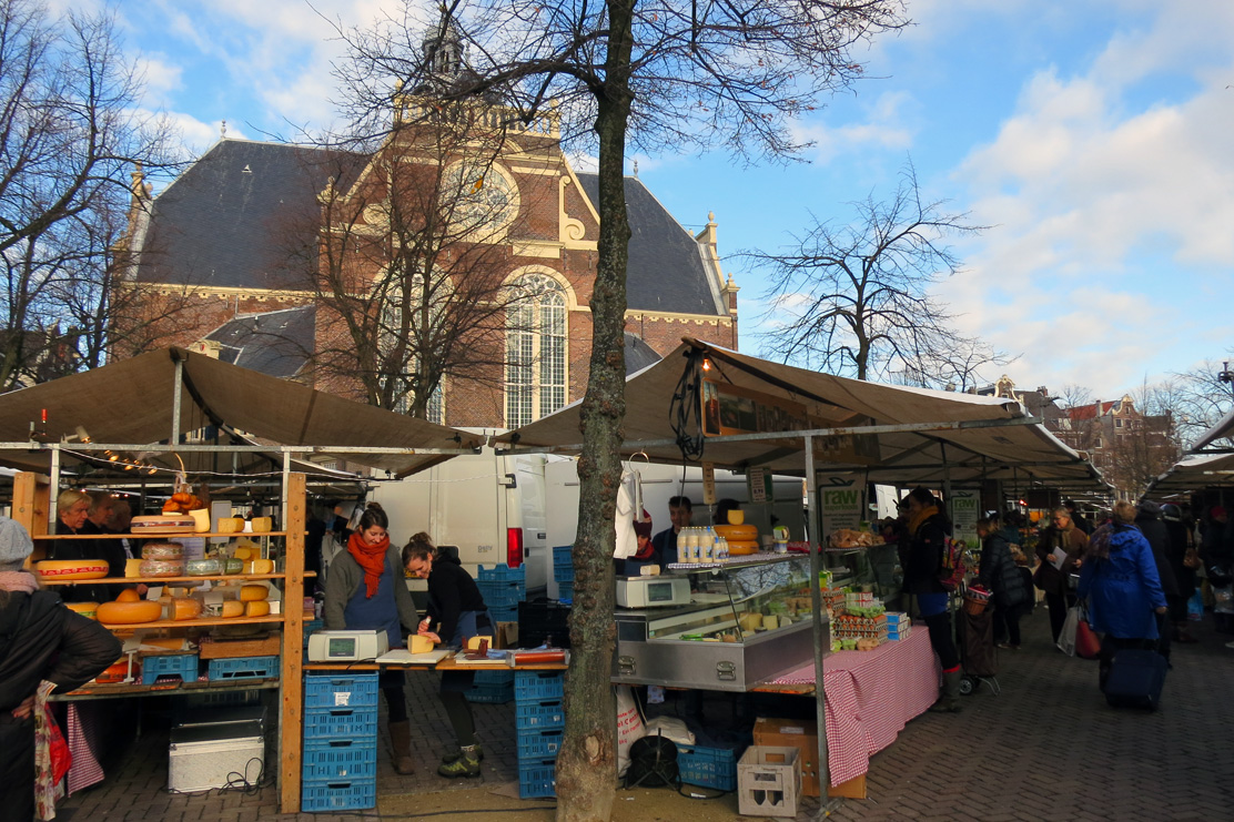 Biological market, Noordermarkt, Amsterdam